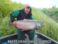 Brett gesh 541 337 8278 bitefinders oregon fishing guide for Fishing eugene oregon